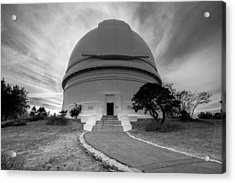Acrylic Print featuring the photograph Palomar Observatory by Robert  Aycock