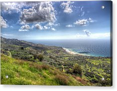 Palos Verdes Peninsula Hdr Acrylic Print by Heidi Smith