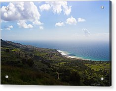 Palos Verdes Peninsula Acrylic Print by Heidi Smith