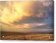 Palouse August Sunset Acrylic Print
