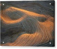 Palouse Contours I Acrylic Print by Latah Trail Foundation