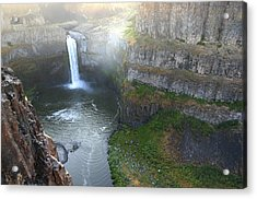 Palouse Falls Acrylic Print by Rich Collins