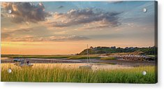 Pamet Harbor In Afternoon Acrylic Print by Betty Wiley