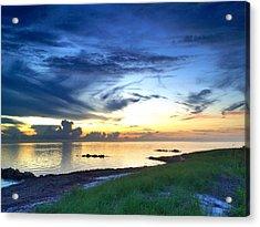 Pamlico Sunset Acrylic Print