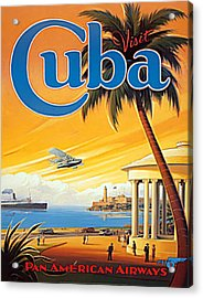 Pan Am Cuba  Acrylic Print