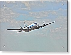 Pan American Clipper Acrylic Print by William Wetmore