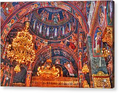 Panagia Katholiki Kremasti Rhodes Acrylic Print