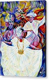 Panama Carnival. Fiesta Acrylic Print