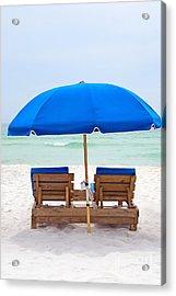 Panama City Beach Florida Acrylic Print by Vizual Studio
