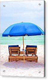 Acrylic Print featuring the photograph Panama City Beach II by Vizual Studio