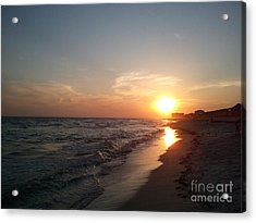 Panama City Beach Sunset Acrylic Print