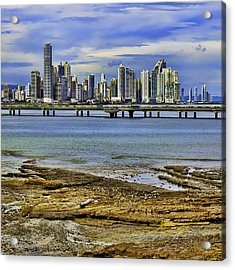Acrylic Print featuring the photograph Panama City by Rob Tullis