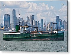 Panama Cityscape Acrylic Print