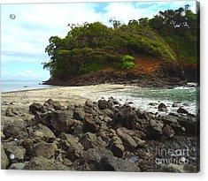 Panama Island Acrylic Print by Carey Chen