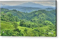 Panama Landscape Acrylic Print by Heiko Koehrer-Wagner