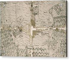 Panama Settlement, 1541 Acrylic Print by Granger