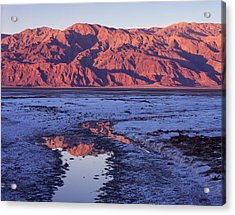 Panamint Reflection 2 Acrylic Print