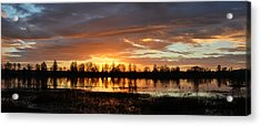 Panaroma Sunrise 02092015 Acrylic Print