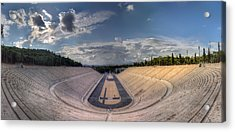 Acrylic Print featuring the photograph Panathenaic Stadium by Micah Goff