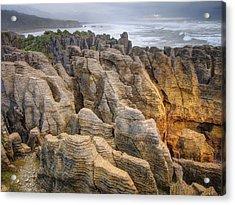 Pancake Rock Acrylic Print