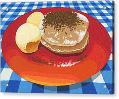 Pancakes Week 15 Acrylic Print by Meg Shearer