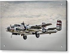 Panchito B-25 Acrylic Print by Brian Young