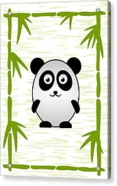Panda - Animals - Art For Kids Acrylic Print