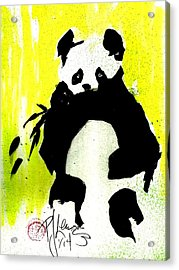 Panda Haiku Acrylic Print