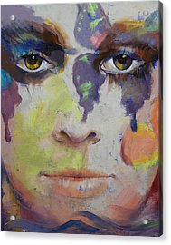 Pandora Acrylic Print by Michael Creese