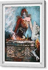Pandora's Box Acrylic Print by Eve Riser Roberts