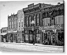 Acrylic Print featuring the photograph Panguitch Utah by Kathy Churchman