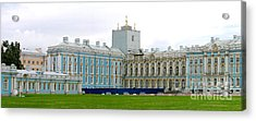 Acrylic Print featuring the photograph Panorama Catherine Park Castle by Art Photography