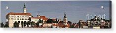 panorama - Mikulov castle Acrylic Print by Michal Boubin
