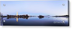 Panorama Of Canberra Australia Acrylic Print