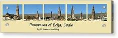 Panorama Of Ecija Spain Acrylic Print