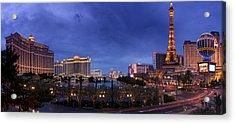 Panorama Of Las Vegas Acrylic Print