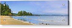 Panorama Of Pacific Coast On Vancouver Island Acrylic Print by Elena Elisseeva