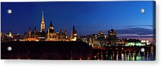 Panorama Of Parliament Hill, Ottawa Acrylic Print
