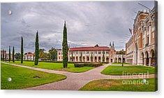 Panorama Of Rice University Academic Quad II - Houston Texas Acrylic Print