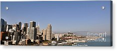 Acrylic Print featuring the photograph Panorama Of San Francisco by Debby Pueschel