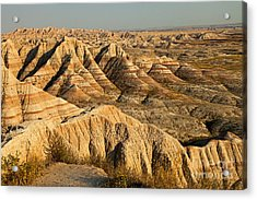 Panorama Point Badlands National Park Acrylic Print