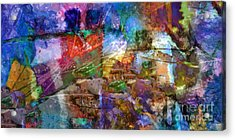 Panoramic Acrylic Print by Lutz Baar