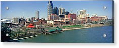 Panoramic Morning View Of Cumberland Acrylic Print by Panoramic Images