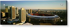 Panoramic View Of Busch Stadium Acrylic Print