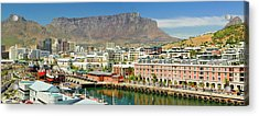 Panoramic View Of Cape Grace Hotel Acrylic Print