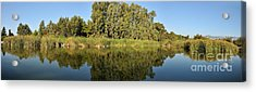 Panoramic View Of Ducks Lake Acrylic Print
