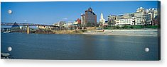 Panoramic View Of Mississippi River Acrylic Print by Panoramic Images