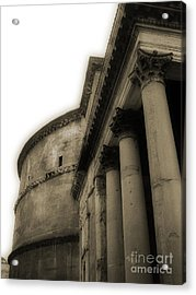 Acrylic Print featuring the photograph Pantheon by Angela DeFrias