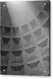 Pantheon Ceiling Acrylic Print