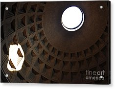 Pantheon Dome Acrylic Print by Katie Fitzgerald